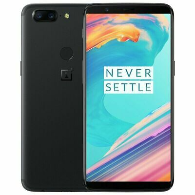 AU376.53 • Buy 4G LTE Octa-core OnePlus 5T Dual SIM 64GB / 128GB ROM Android Cell Phone 6.01