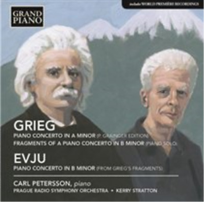 £8.27 • Buy Grieg: Piano Concerto In A Minor/Fragments Of A Piano Concerto... CD NEUF