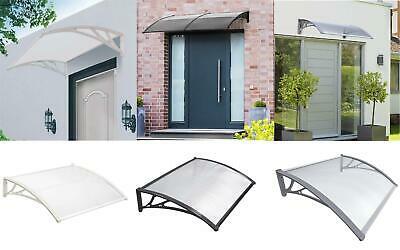 £54.95 • Buy New Durable Door Canopy Awning Front Back Patio Porch Shade Shelter Rain Cover