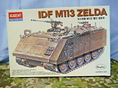 $47 • Buy ACADEMY 1/35 IDF M113 ZELDA Armored Personnel Carrier Display #1372 Parts Sealed