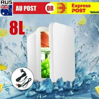AU47.89 • Buy 8L 2 In1 Home Car Mini Portable Fridge Small Drinks Beer Cooler Bar Freezer AU
