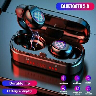 $ CDN7.79 • Buy 2021 TWS Bluetooth 5.0 Invisible Wireless Stero Earphone Noise Cancelling Earbud