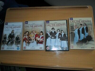 £18 • Buy Call The Midwife DVD Series 1-4