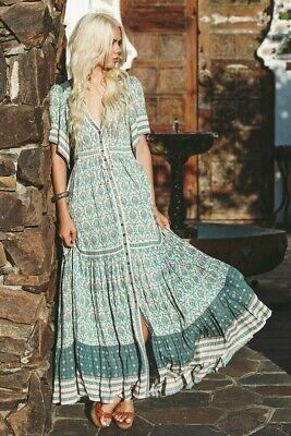 AU265 • Buy Spell Designs Oracle Gown Sage - Size XS Gypsy Collective