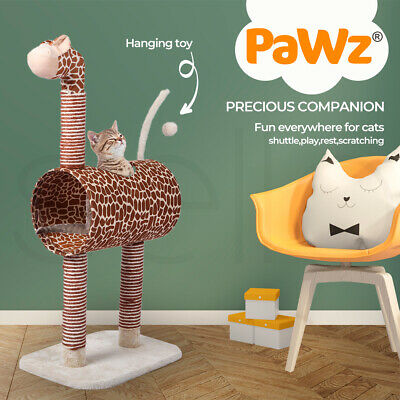 AU53.99 • Buy Cat Tree Tower Condo House Scratching Post Furniture Play Pet Activity Kitty Bed