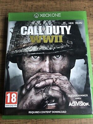 £3.37 • Buy Xbox One - Call Of Duty WWII