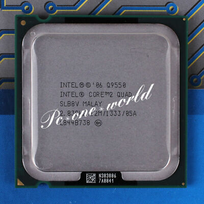 $ CDN31.40 • Buy Intel Core 2 Quad Q9550 2.83GHz 12M 1333 Quad-Core LGA775 CPU Processor