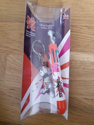£4.99 • Buy Official Product Of London 2012 Olympics Mascot Keyring & 8 Colour Pen Gift Set