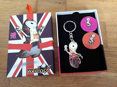 £9.99 • Buy Official Product Of London 2012 Olympics Keyring And Badges New In Original Box