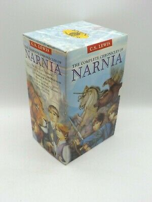 £4.99 • Buy THE COMPLETE CHRONICLES OF NARNIA - C.S. Lewis, 3 X Hardback Books