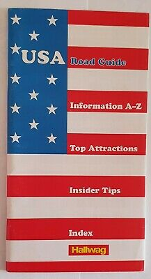 £3.99 • Buy Hallwag USA Road Guide, Information A-Z, Top Attractions, Insider Tips