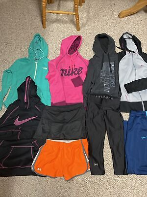 AU77.83 • Buy Super Lot 9 Womens Nike Under Armour North Face Adidas Athletic Clothes