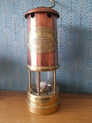 £55 • Buy Old  Original Welsh Made Miners Lamp