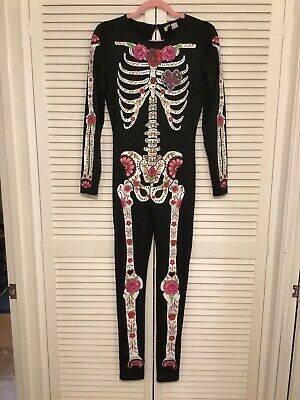 $ CDN10.22 • Buy H&M DIVIDED Skeleton Stretch Jumpsuit Size M NEW.