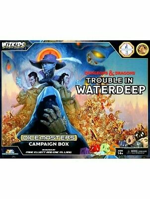 AU42.41 • Buy Dungeons & Dragons Dice Masters Trouble In Waterdeep Campaign Box Starter Set