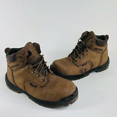 $ CDN60.62 • Buy Red Wing King Toe Mens Size 10.5 D Brown Leather Waterproof Safety Work Boots