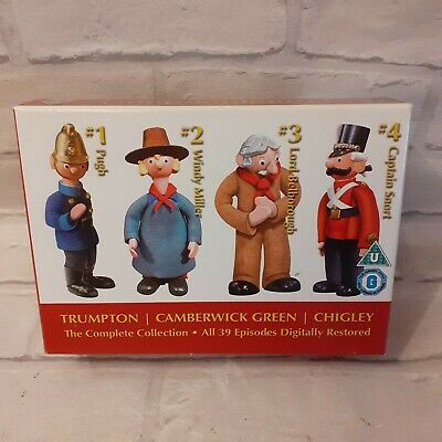 £24.95 • Buy Trumptonshire Trumpton Chigley Camberwick Green Complete Collection Box Set DVD