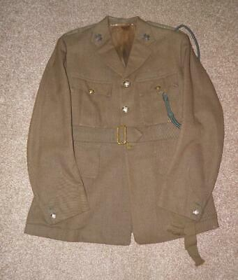 £129 • Buy Officers Military Army Sherwood Foresters Notts & Derby Regiment Tunic R.GOODWIN