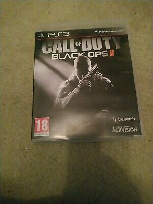 £2.99 • Buy Call Of Duty Black Ops II (2) PS3 Game - With Instructions