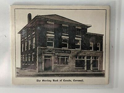 $ CDN55.25 • Buy Vintage Christmas Card Banking Sterling Bank Of Canada Mint