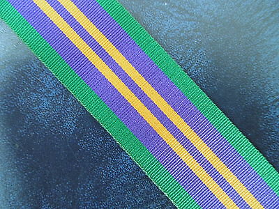 £2 • Buy Accumulated Campaign Service Medal 2011 Ribbon Full Size 32cm Long