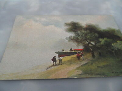£3.10 • Buy The Wherry   C W Faulkner    POSTED 1905    VINTAGE POSTCARD GOOD CONDITION