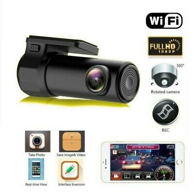 AU45.87 • Buy 1080P Mini Car DVR Camera Dash Cam WIFI G-sensor Night Vision Video Recorder A