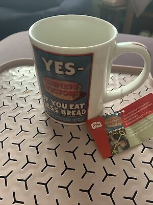 £6 • Buy Imperial War Museum Denby Yes If You Eat Less Bread  Fine China Mug