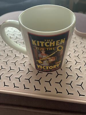 £6 • Buy Denby China Kitchen Key To Victory Tea Mug Coffee Cup Imperial War Museums IWM