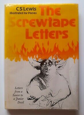 £12 • Buy C S Lewis : The Screwtape Letters Illustrated By Papas Collins Hardback 1st 1979