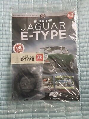 £10 • Buy Deagostini Build Your Own 1/8th Jaguar E- Type Issue 53