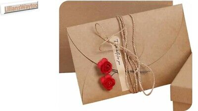 £4.75 • Buy Vintage Letter Writing Set~Writing Paper/Envelopes/Flowers/Decal Stickers/Rope