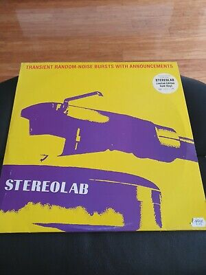 £90 • Buy STEREOLAB-Transient Random Noise Bursts With Announcements,2 X Gold Vinyl,No 138