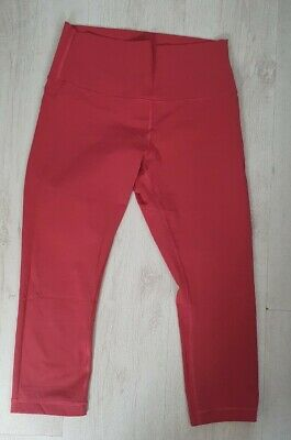$ CDN8.52 • Buy Great Condition Cropped Gym Leggings Brand Lululemon Size 10