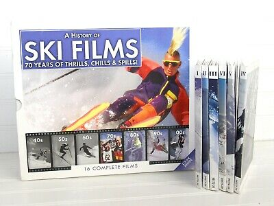 £10.28 • Buy History Of SKI FILMS 1940s-2000s 16 Films 15 Boxed DVD SET Collector's Edition
