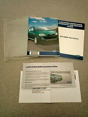 AU35 • Buy FORD SY MARK 2 TERRITORY OWNERS MANUAL PACK - New