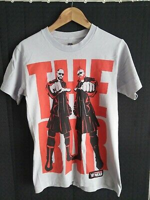 £8.99 • Buy Authentic WWE - Sheamus & Cesaro  The Bar  Authentic T-Shirt - USED - Size S/med