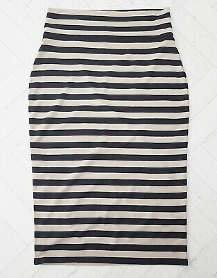 £14.99 • Buy MASAI Clothing Co Stripe Stretch Jersey Casual Tube Pencil Skirt Size L