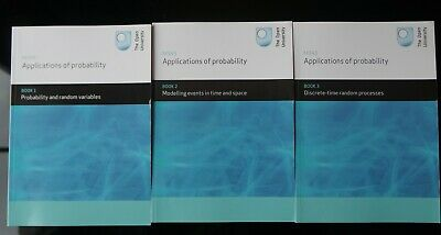 £90 • Buy Open University M343 Applications Of Probability LIKE NEW