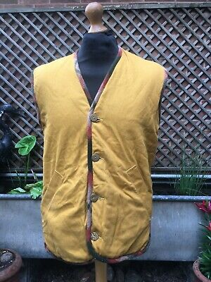 £9 • Buy Vintage MASCOT Reversible Country Shooting  Waistcoat Gilet Body Warmer Jacket L
