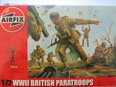£5.99 • Buy British (WWII) Paratroops 1/72 Scale (Airfix)