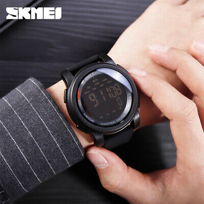 $ CDN14.24 • Buy SKMEI Sports Watch Men Digital Mileage Calorie Wristwatch 5Bar Waterproof 1469