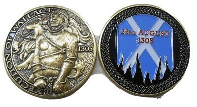 £13 • Buy Society Of William Wallace The Wallace Execution Anniversary Coin