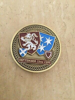 £13 • Buy Society Of William Wallace Battle Of Stirling Bridge Coin
