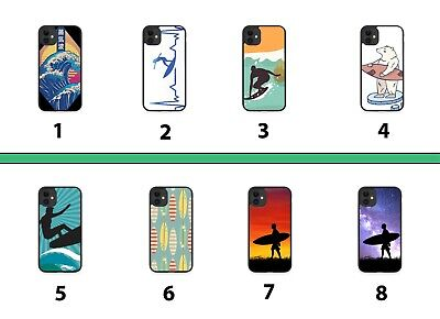 £9.90 • Buy Surfing Rubber Phone Case Cover Surf Surfer Surfboard Dude Boys Wave Waves 8083B