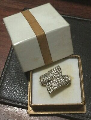 AU1300 • Buy 9ct Yellow Gold Ring With 1.5ct Pave Set Diamonds
