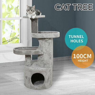 AU99.99 • Buy Cat Tree Tower Condo House Post Scratching Furniture Play Pet Activity Kitty Bed