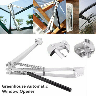 £18.98 • Buy NEW Greenhouse Automatic Window Opener Double Spring Temperature Control Opener