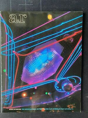£14 • Buy Architectural Review 987 May 1979 Interiors 2