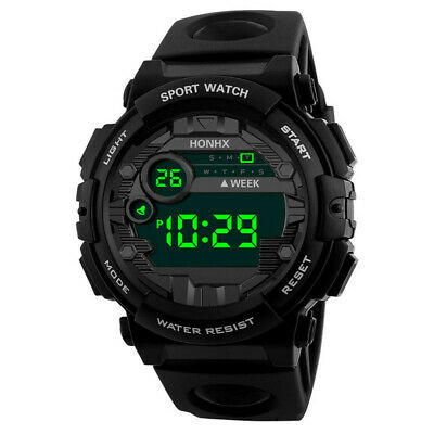 $ CDN11.70 • Buy Men's Watch Digital LED Display Date 3Bar Living Waterproof Alarm Sport Outdoor